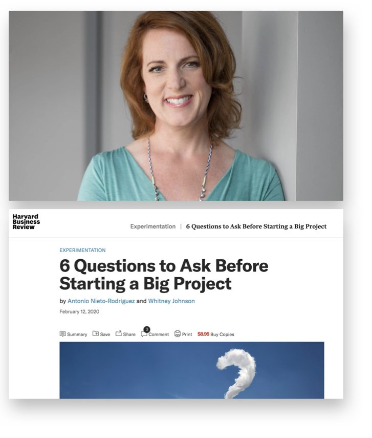 "HBR- ""When is a Project a Project?"" with Whitney Johnson.001"