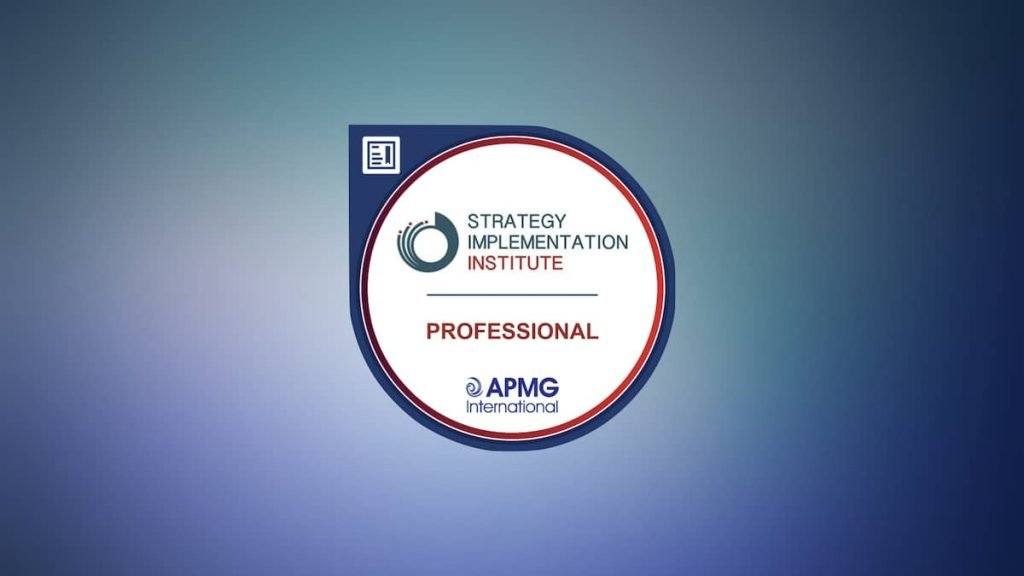 Strategy Implementation Professional Training and Certification