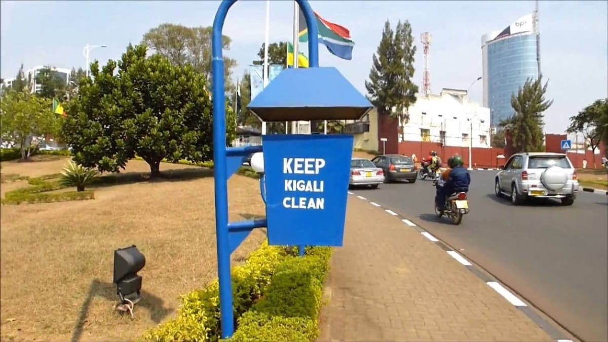 Kigali, one of the cleanest capitals in Africa